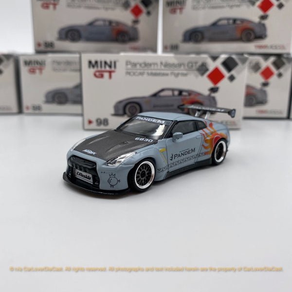 MINI GT  Nissan LB works GTR-R 35 GT Wing Alataw Fighter LHD Taiwan Exclusive (MGT00098-L) model available now