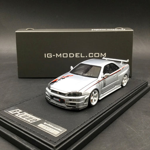 Ignition Model 1:43 Nismo R34 GT-R S-Tune resin model  (IG1607) Silver available now