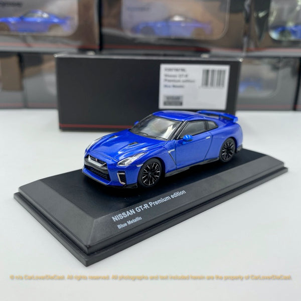 Kyosho 1:64 NISSAN GT-R 50th Anniversary (Blue) Diecast car model available Now (KS07067BL)