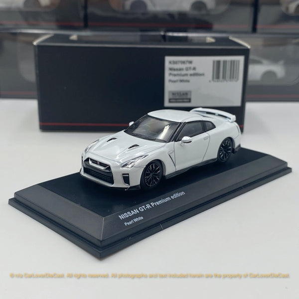 Kyosho 1:64 NISSAN GT-R 50th Anniversary (Pearl White) Diecast car model available Now (KS07067W)