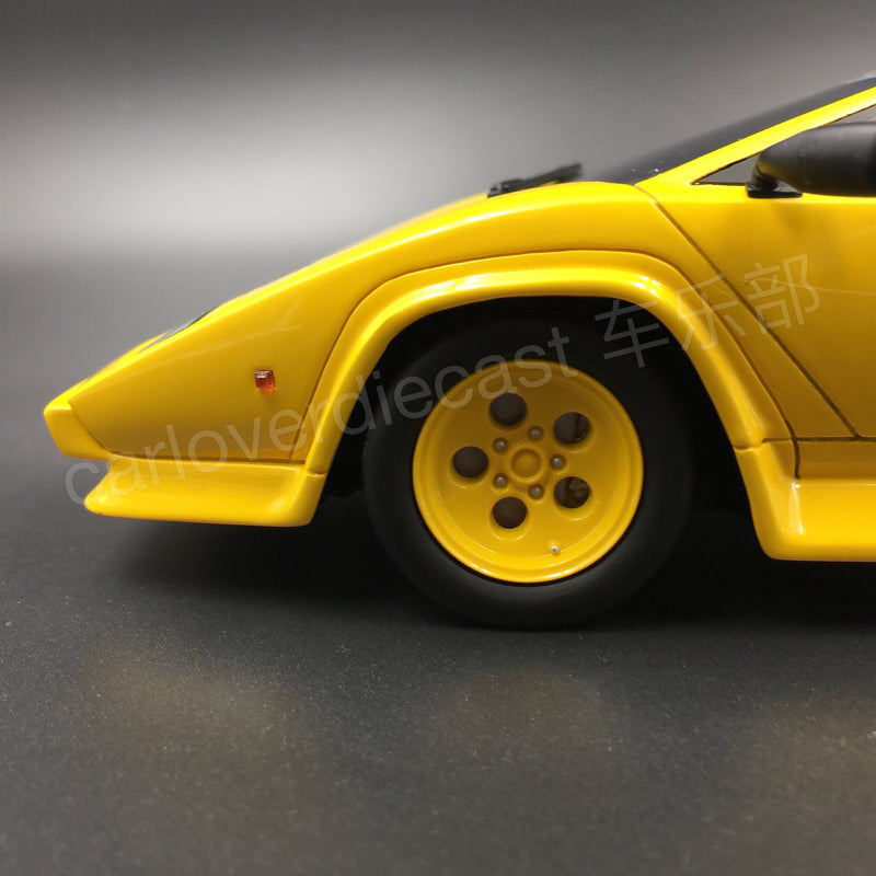 (GT Spirit) KOENIG COUNTACH TWIN TURBO Resin Scale 1/18 Limited 504 Stück (KJ010) Exklusiv von Carloverdiecast
