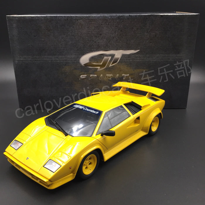 (GT Spirit) KOENIG COUNTACH TWIN TURBO Resin Scale 1/18 Limited 504 pcs (KJ010) Exclusive by Carloverdiecast