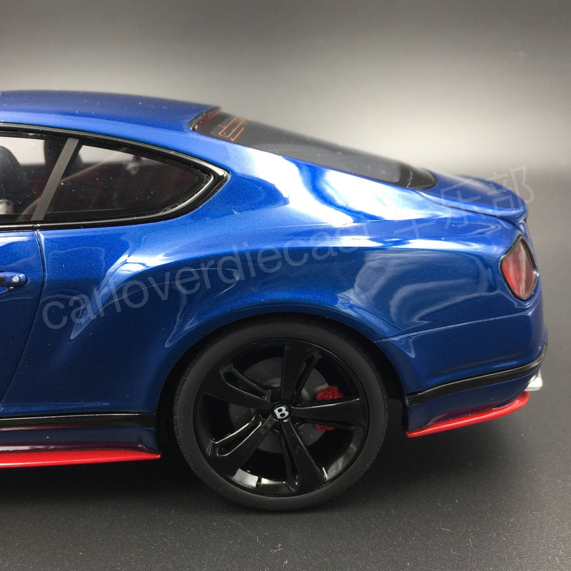 GT Spirit Bentley Continental GT Speed Black Edition Resin Scale 1/18 Limited 504 pcs (KJ006) Exclusive by Carloverdiecast available now