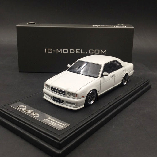 Ignition Model 1:43 Nissan Cedric (Y32) Gran Turismo Ultima White resin model  (IG1262) available Now