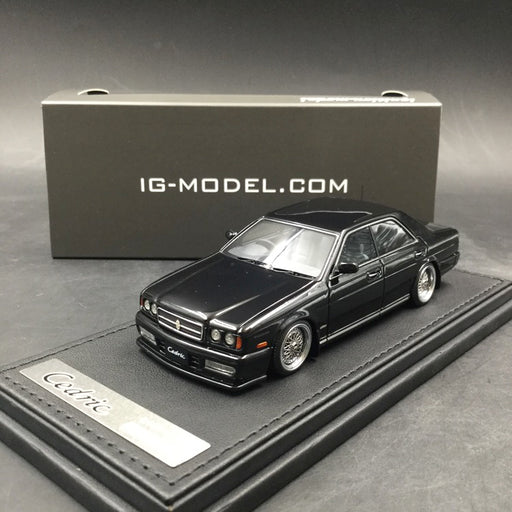 Ignition Model 1:43 Nissan Cedric (Y32) Gran Turismo Ultima Black resin model  (IG1264) available Now