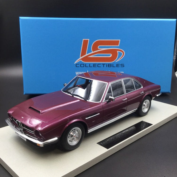 LS Collectibles 1:18 Aston Martin Lagonda 1974 Saloon (Rouge) LS024A disponible maintenant