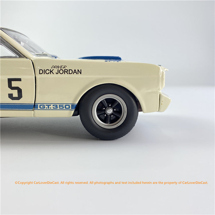 ACME 1:18 1965 Shelby GT350R - Canadian Champion (A1801841) All-Opened Diecast Car Model