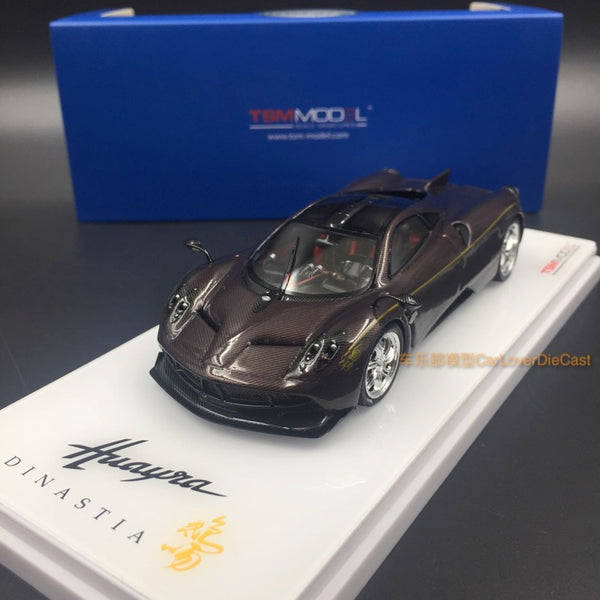 "TSM - Pagani Huayra Dinastia Chiwen ""Protective Dragon resin  scale 1:43 (TSM430120) available now"