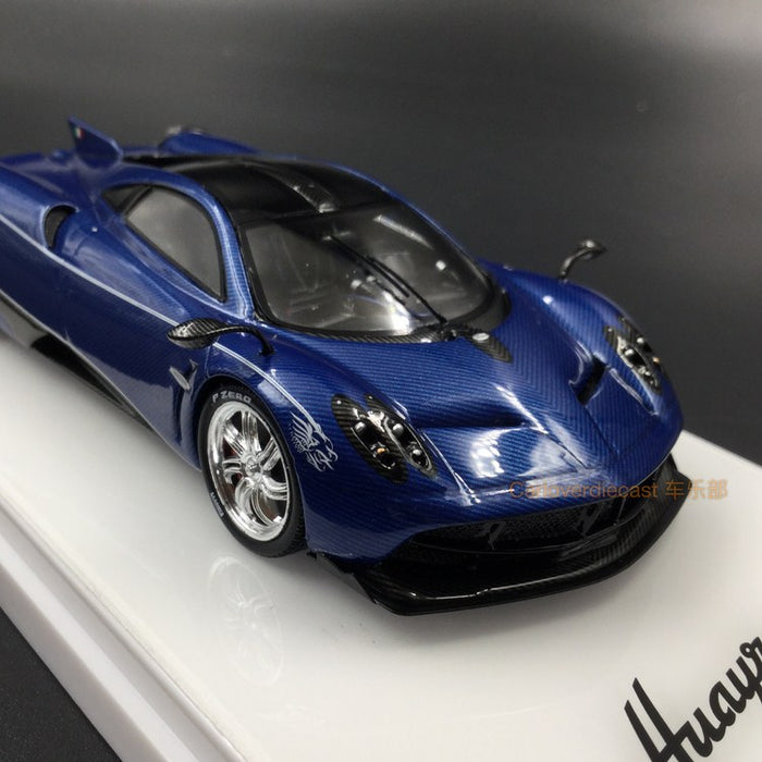 "TSM Model - Pagani Huayra Dinastia Baxia ""Water Dragon""  resin scale 1:43 (Blue Carbon)"