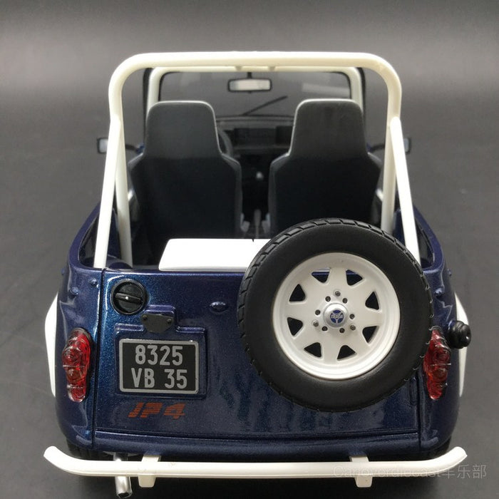 OTTO Mobile - Renault 4L JP4 Resin Scale 1/18 Model (OT212) Limited 1500 units