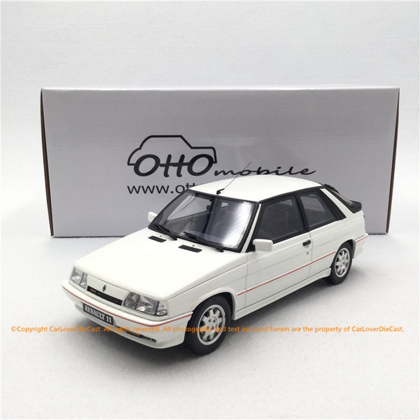 OttO Mobile 1:18 Renault 11 Turbo Ph2  resin car model (OT319) Limited 1500pcs