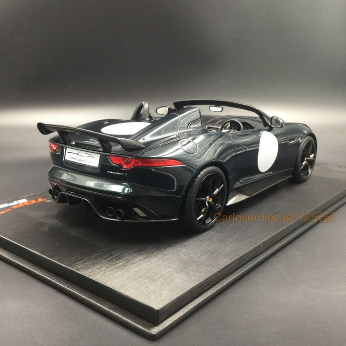 Topspeed  Jaguar F-TYPE Project 7  British Racing Green Metallic  resin scale 1:18 Limited 999pcs available  now (TS0033)