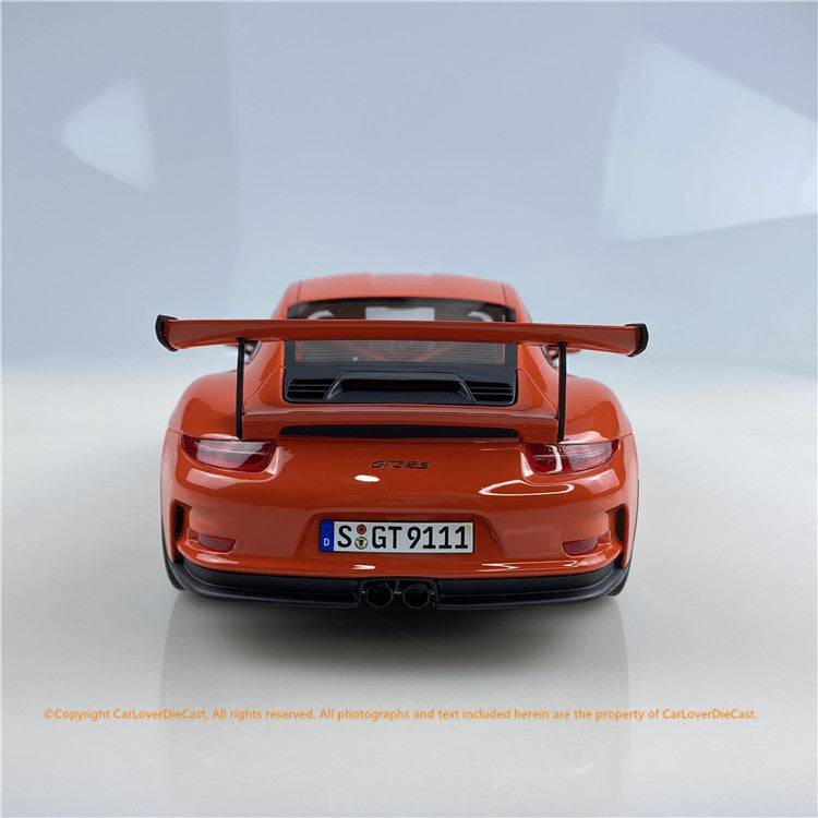 GT Spirit 1:18 PORSCHE 911 (991.1) GT3 RS (Lava Orange) GT844 Carloverdiecast exclusive edition limited 888pcs available on Dec 2020 pre-order item