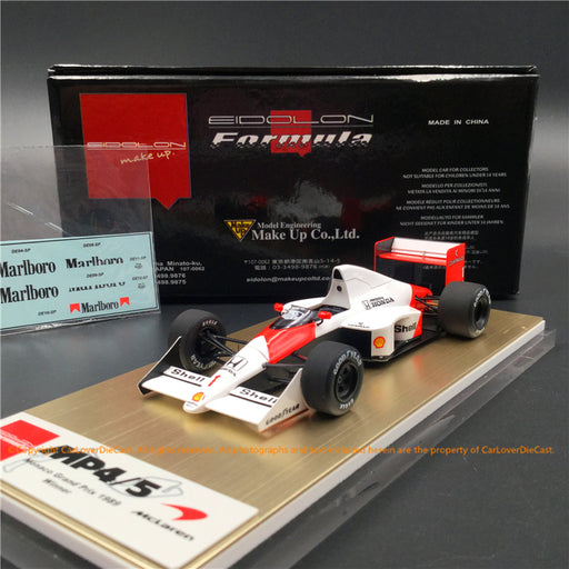 Makeup 1:43 McLaren Honda MP4/5 Monaco GP No.1 Winner (FE023A) resin car model