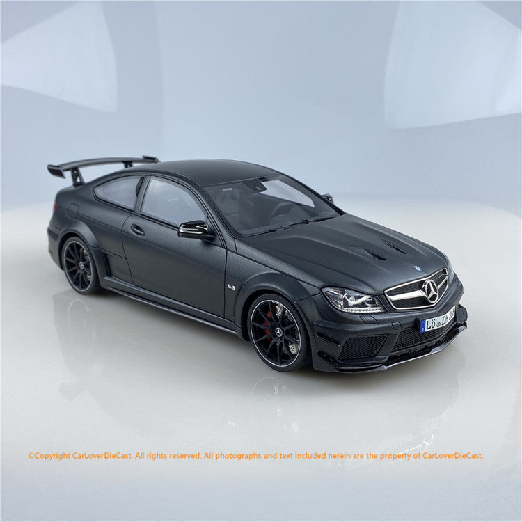 GT Spirit 1:18 Mercedes AMG C63  (Black Series) W204 GT843 Carloverdiecast exclusive edition limited 888pcs available on Dec 2020 pre-order item