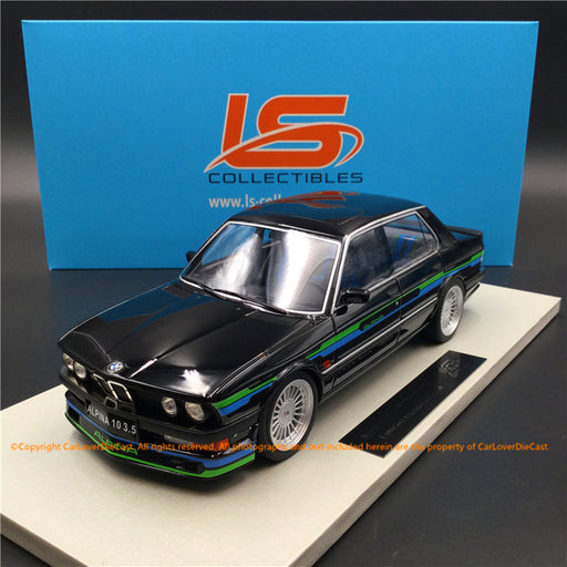 LS Collectibles 1:18 BMW Alpina B10 3.5 (LS044A)  Black Limited 250 pcs available  now