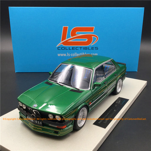 LS Collectibles 1:18 BMW Alpina B10 3.5 (LS044B)  Green Limited 250 pcs available  now