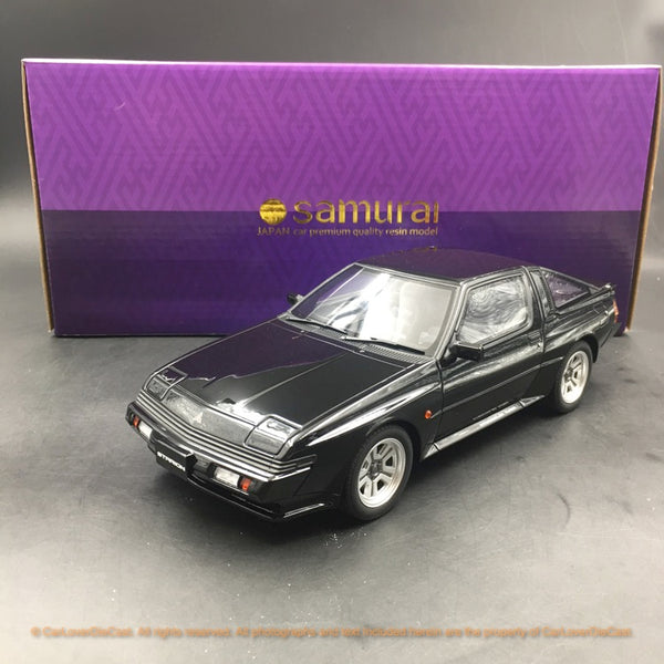 Kyosho 1:18 Mitsubishi Starion  (Black) resin car model (KSR18034BK-B) available  now