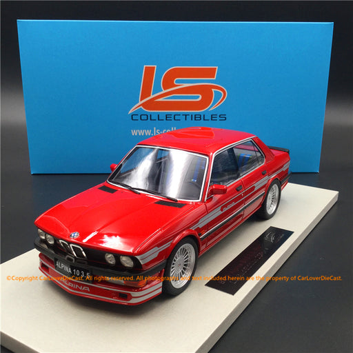 LS Collectibles 1:18 BMW Alpina B10 3.5 (LS044C) Red Limited 250 pcs available  now