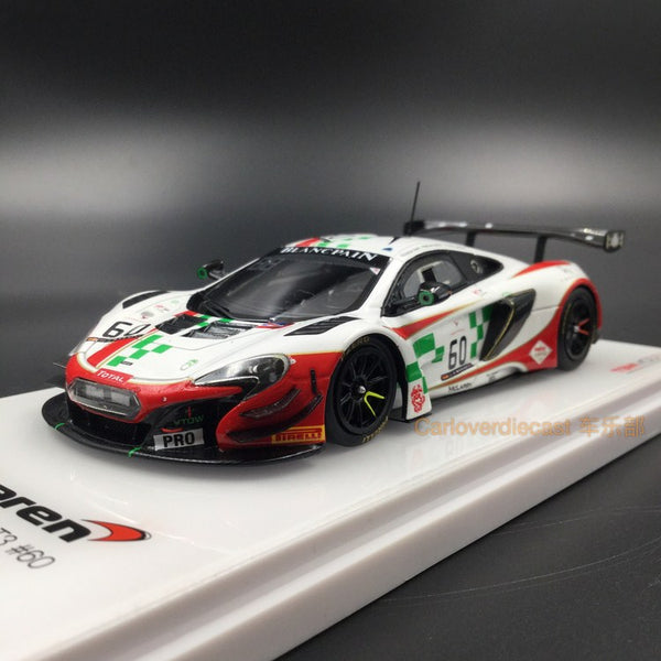 TSM - McLaren 650S GT3 #60 24 Hrs of Spa 2016 B.Senna resin scale 1:43  TSM430196