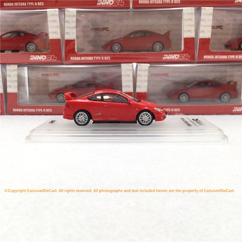 INNO Model 1:64 HONDA INTEGRA TYPE-R DC5 RED (IN64-DC5-RED)Diecat car model