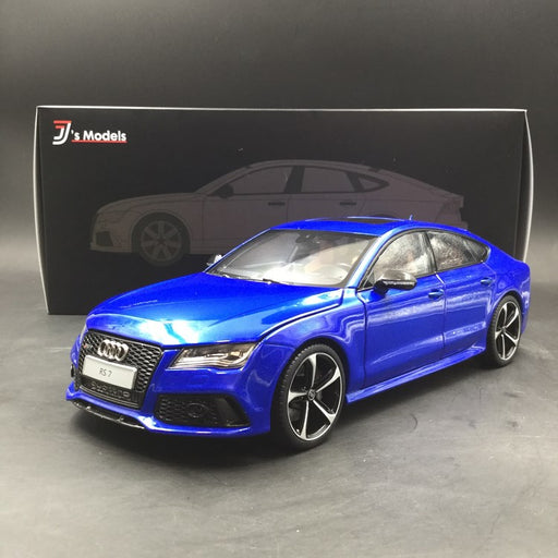J's Models  1:18 Audi RS7 Sportback (Sepang Blue with carbon side Mirror) diecast full open Limited 999 pcs (FK001101BC) available now