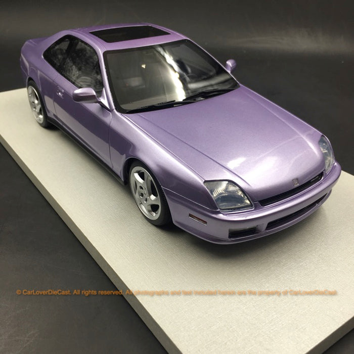 LS Collectibles 1:18 Honda Prelude 1997 -2001 N American Base Spec (LS038B)  Resin Car Model (Purple)