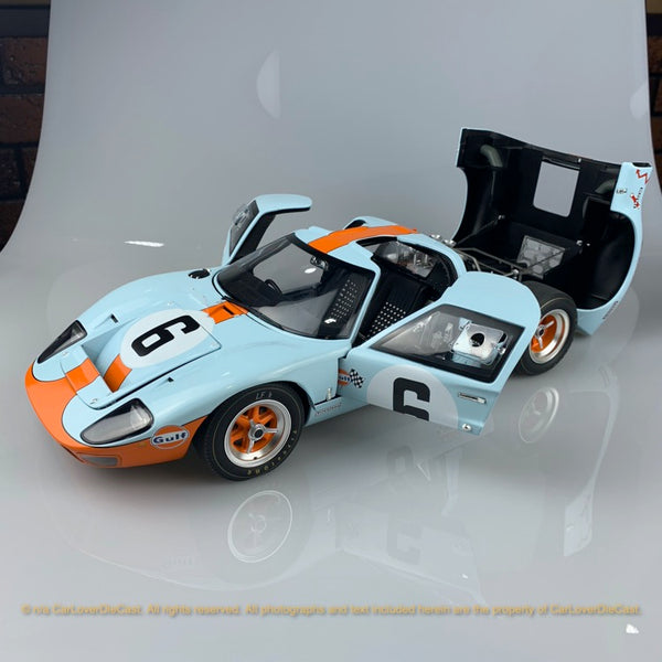 ACME 1:12 MasterPieces #6 1969 Ford GT40 MKI -1969 Le Mans Champion (M1201006) Diecast full open restock available on the end of Jan 2021 pre-order item