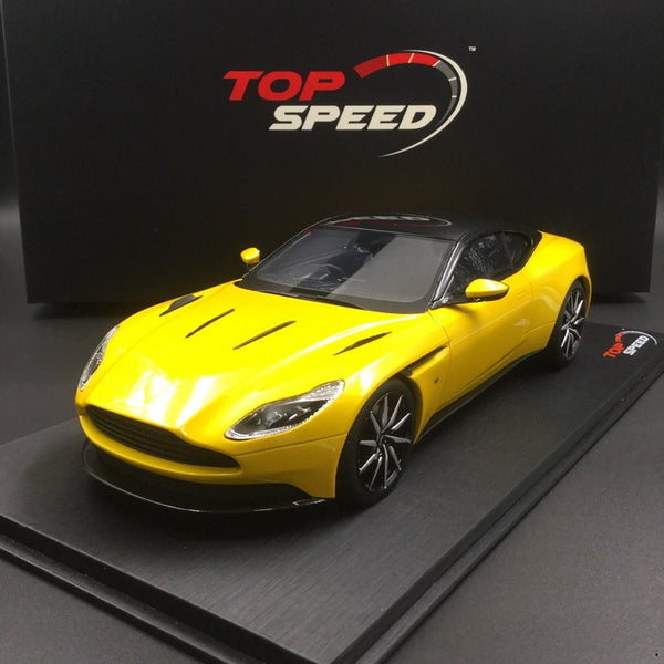 TopSpeed - Aston Martin DB11 (Sunburst Yellow) Resin scale 1:18 (TS0123) available now (limited 999pcs)