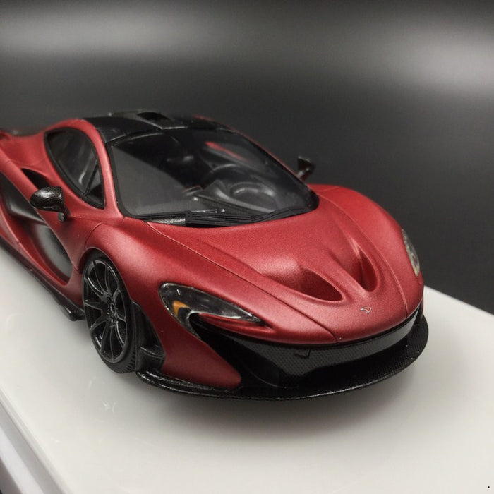 TSM-Model McLaren P1 Matte Red Resin Scale 1:43 (TSM430249) Available now