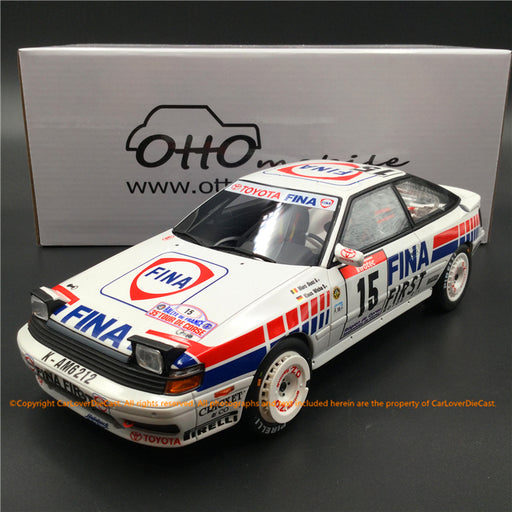 OttO Mobile 1:18 Toyota  Celica GT-Four (ST165) Tour de Corse 1991 resin car model (OT727) Limited 2000 pcs
