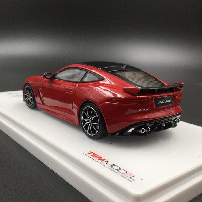 TSM Model - Jaguar F-Type SVR AWD Caldera Red Diecast 1:43 available now (TSM430148)