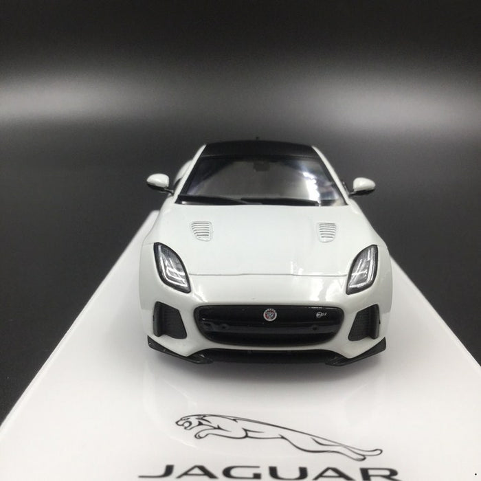 TSM 1:43 Jaguar F-Type SVR AWD diecast (Glacier White) TSM430146 available now