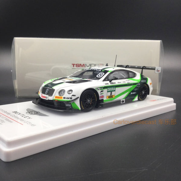 TSM-Model Bentley Continental GT3 #8 ADAC GT Masters Red Bull Racing 2016  Resin Scale 1:43 (TSM430179) Available now