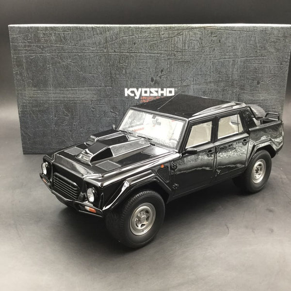 Kyosho 1:18 Lamborghini LM002 (Black) KSR18508BK-B resin car model