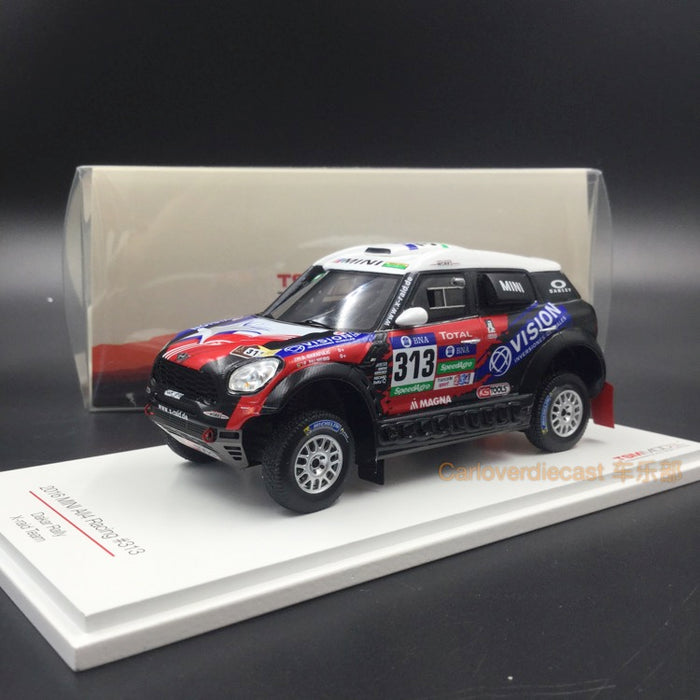 TSM - Mini All4 Racing #313 2016 Dakar Rally AXION X-road Team resin scale 1:43 (TSM430236) available  now