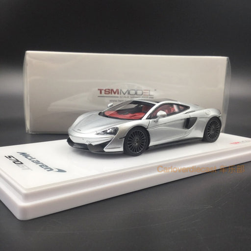 TSM - McLaren 570GT 2016 resin scale 1:43 (Silver) TSM430255 available  now
