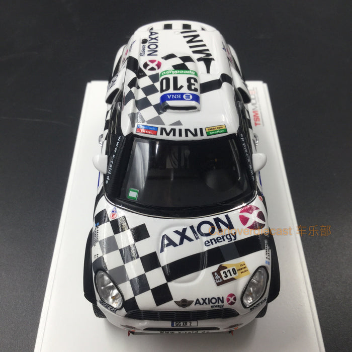 TSM - Mini All4 Racing #310 2016 Dakar Rally AXION X-road Team resin scale 1:43 (TSM430235) available  now