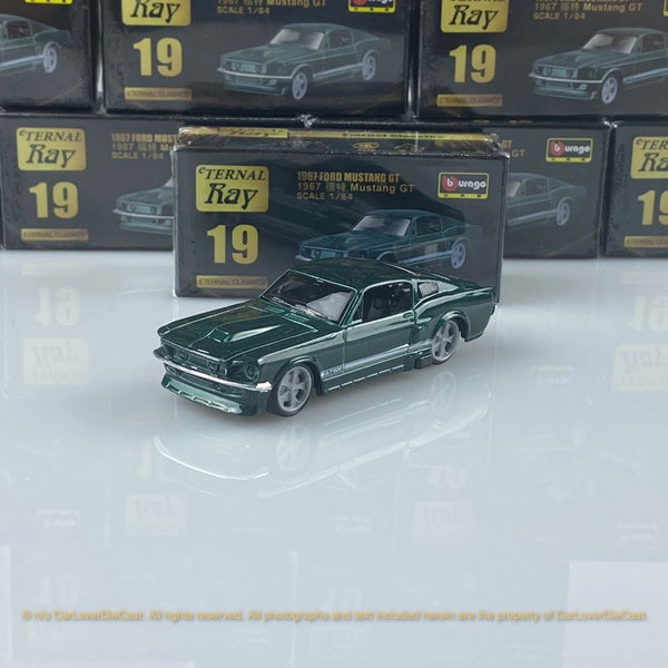 Bburago 1:64 Ford 1967 Mustang 18-59000#19  diecast car model