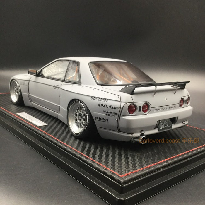 Ignition Model 1:18 Pandem GT-R (R32) Matte Gray Resin Model (IG1270)