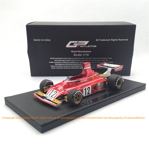 GP Replicas 1:18 Ferrari 312 B3 1974 Niki Lauda #12 (GP25A) limited 250 pcs available Now