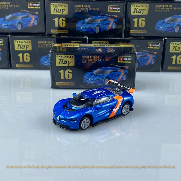 Bburago 1:64 Alpine A110-50  18-59000#16  diecast car model