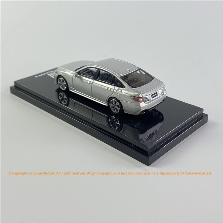 Hobby Japan 1/64 Toyota CROWN 2.0 RS Advance  Silver Metallic (HJ641009GS) diecast car model