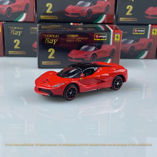 Bburago 1:64 Ferrari LaFerrari (Red) 18-56100#2 diecast car model