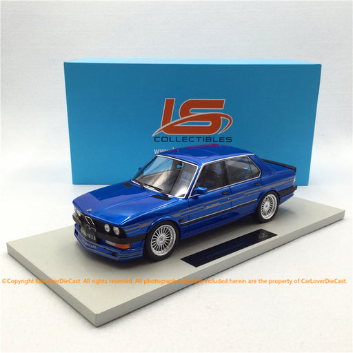 LS Collectibles 1:18 BMW Alpina B10 3.5 (LS044E)  Blue  Limited 250 pcs available Now