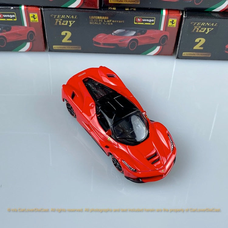 Bburago 1:64 Ferrari LaFerrari (Red) 18-56100