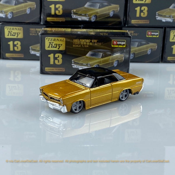 Bburago 1:64 Pontiac GTO  18-59000#13 diecast car model