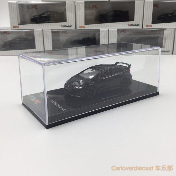 (Tarmac Works) Honda Civic Type R FK2 (Black)  diecast scale 1:64 (T64-003-BK)