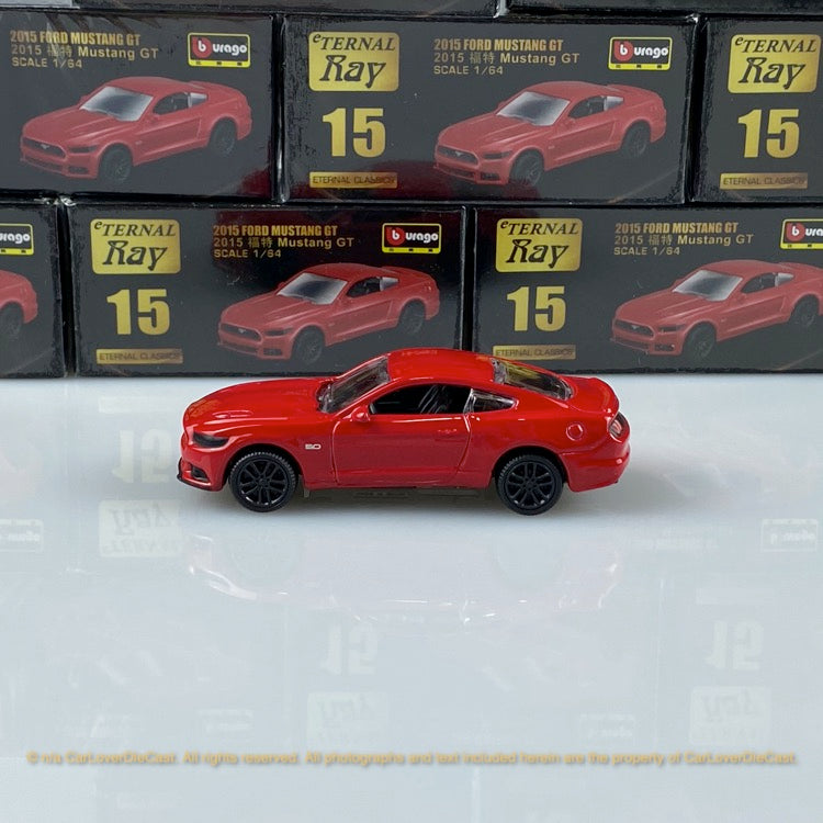 Bburago 1:64 Ford Mustang GT (Red) 18-59000