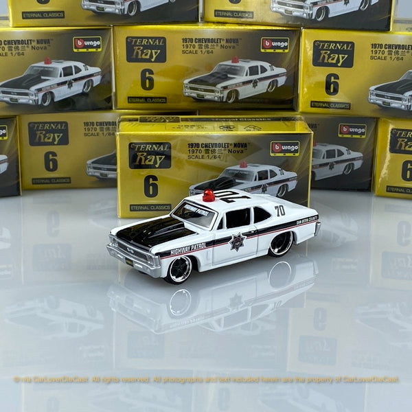 Bburago 1:64 Chevrolet Nova  15494#6 diecast car model
